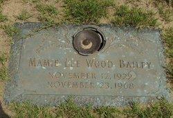 Mamie Lee <i>Wood</i> Bailey