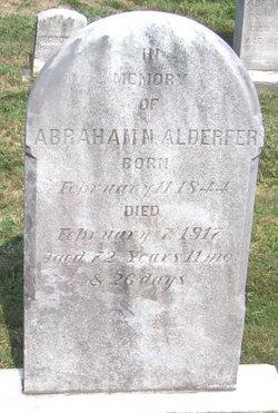 Abraham Nice Alderfer