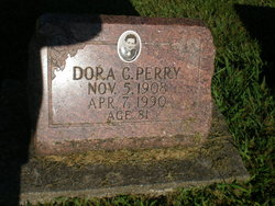 Dora Charlotte <i>Harris</i> Hammer-Perry