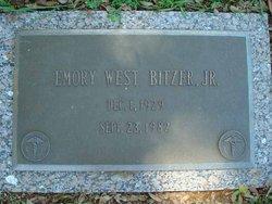 Dr Emory West Bitzer, Jr