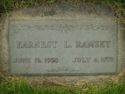 Earnest L Ramsey