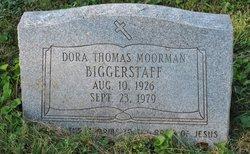 Dora Thomas <i>Moorman</i> Biggerstaff