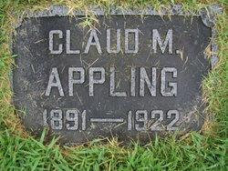Claud M Appling