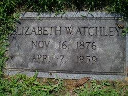 Elizabeth W. Atchely