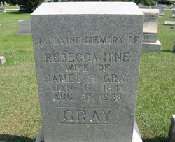 Rebecca <i>Hine</i> Gray