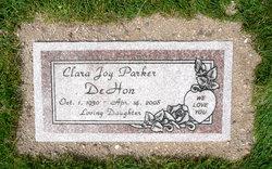 Clara Joy <i>Parker</i> DeHon