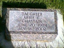 Abbie C Peg Chastain