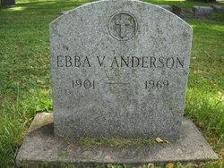 Ebba V. Anderson