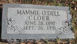Mamie <i>O'Dell</i> Cloer