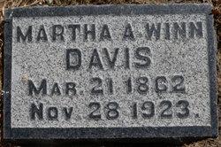 Martha Ann <i>Winn</i> Davis