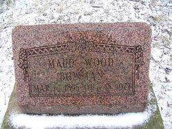 Maud <i>Wood</i> Bowman
