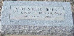 Reta Myrle <i>Sallee</i> Meeks