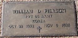 William D Pierson