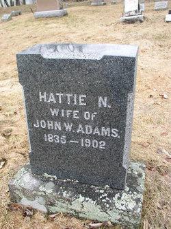 Harriet N <i>Gould</i> Adams