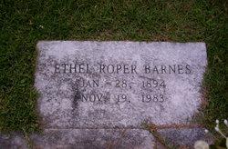 Ethel <i>Roper</i> Barnes