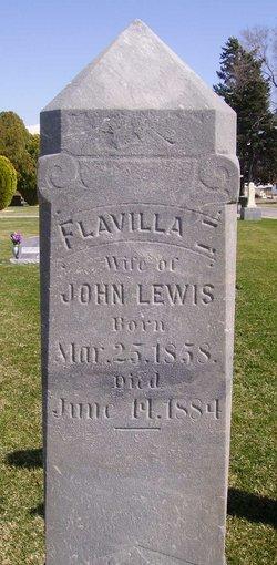 Flavilla Zanette <i>Burnham</i> Lewis