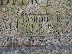 Gordie Bonnie <i>Goodwin</i> Chandler