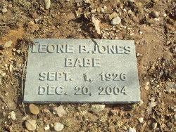 Leone B. Babe Jones