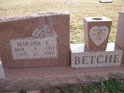 Martha E. <i>Oswald</i> Betche