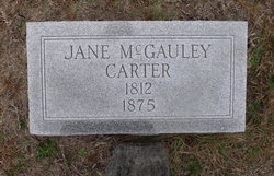 Jane <i>McGauley</i> Carter