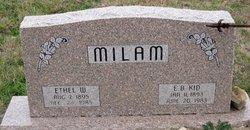 Elmer Burris Kid Milam