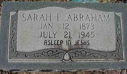 Sarah E. <i>Stokes</i> Abraham