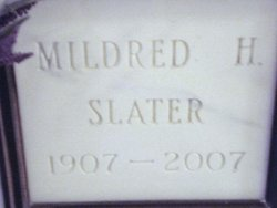 Mildred H Slater