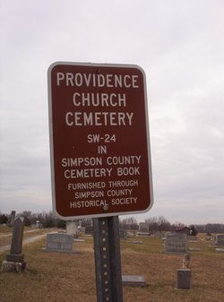 Providence Cemetery  SW 24