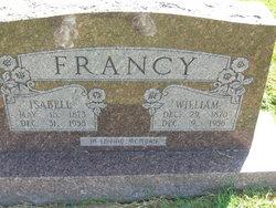 Isabell <i>Morris</i> Francy