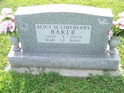 Alice Marie <i>Limeberry</i> Baker