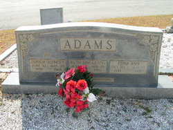 Ruth <i>Singleton</i> Adams