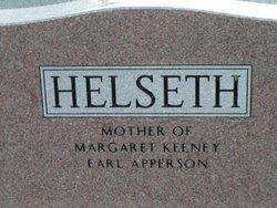 Lois Eudora Josephine <i>Rains</i> Helseth