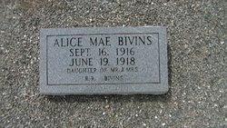 Alice Mae Bivins