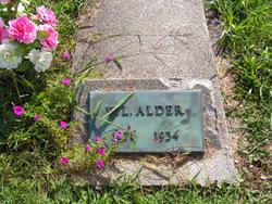 William Leroy Alder