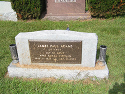Sgt James Paul Adams