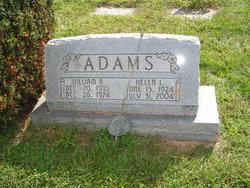 Helen L. <i>Springer</i> Adams