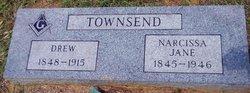 Narcissa Jane Cissy <i>White</i> Townsend