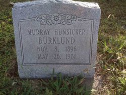 Murray <i>Hunsicker</i> Burklund