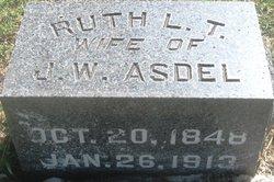Ruth Lavinia <i>Tillotson</i> Asdel