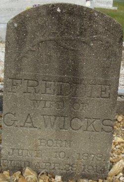 Maria Safira Frederica Freddie <i>Funchess</i> Wicks