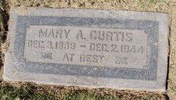 Mary Arzula <i>Davis</i> Curtis