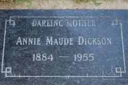 Annie Maude <i>Shackelford</i> Dickson