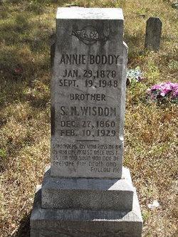 Annie <i>Wisdom</i> Boddy