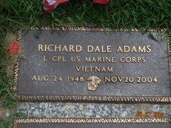 LCpl Richard Dale Adams