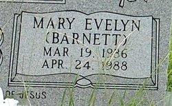 Mary Evelyn <i>Barnett</i> Huckaby
