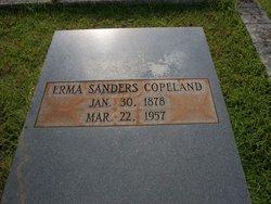 Mary Erma <i>Sanders</i> Copeland
