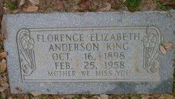 Florence Elizabeth <i>Anderson</i> King
