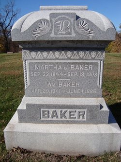 Martha J. <i>Baker</i> Baker