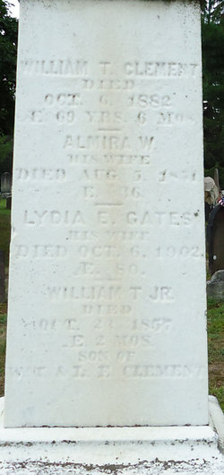Lydia E <i>Gates</i> Clement