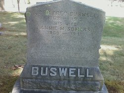 Annie M. <i>Somers</i> Buswell